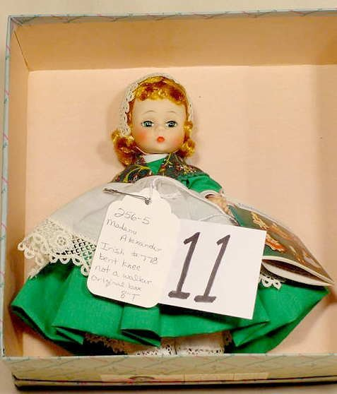 11: Madame Alexander Irish #778 Doll NR