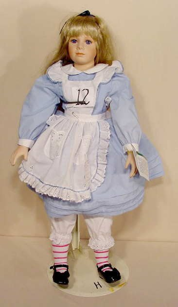 12: Masterpiece Gallery Alice T. Resch Doll NR
