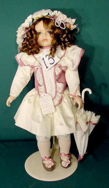 13: Morgan Brittany Doll Victoria Rose NR