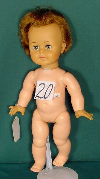 20: Ideal Toy Corp Vinyl & Plastic Doll K-L6-L NR
