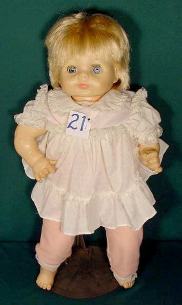 21: 1965 Vogue Hard Plastic & Cloth Doll NR