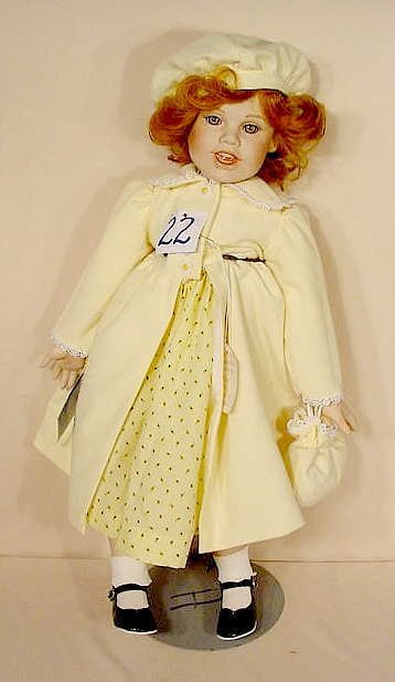 22: Masterpiece Gallery Cleo Doll Marilyn Bolden NR