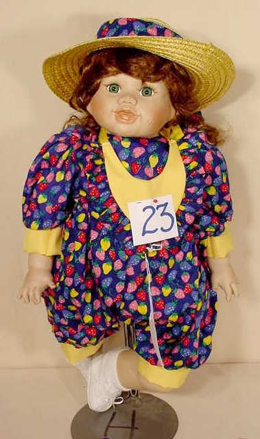 23: World Gallery Doll Strawberry Fun Holly Hunt NR