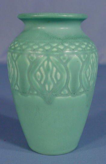 13: Rookwood Bluish Green Glaze 1928 Vase