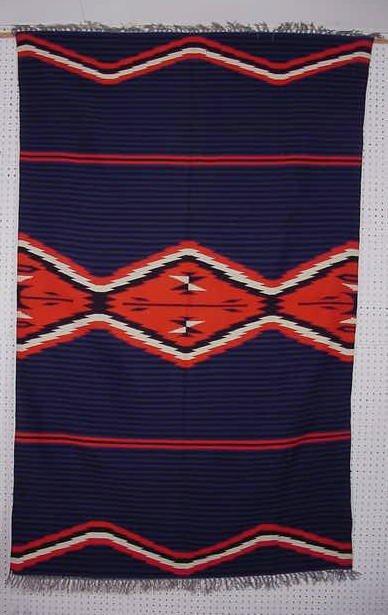 """105:Moki Pattern Weaving 83"""" x 52"""""""