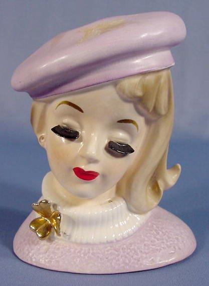 20: Inarco Lady Head Vase