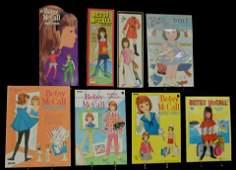 7 PCS  Betsy McCall Paper Dolls