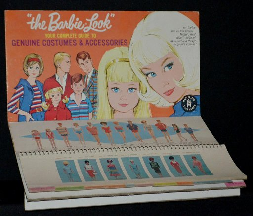 Barbie Store Display Guide to Costumes