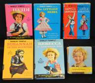 6 Shirley Temple Books