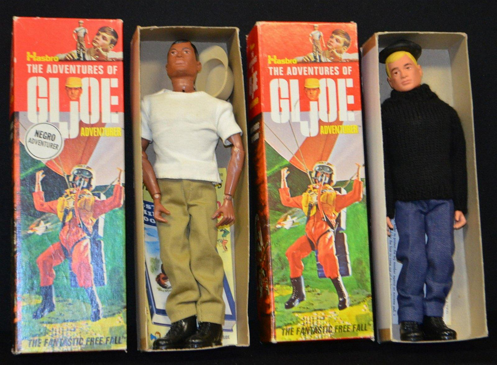 2 Hasbro GI Joe Adventurer