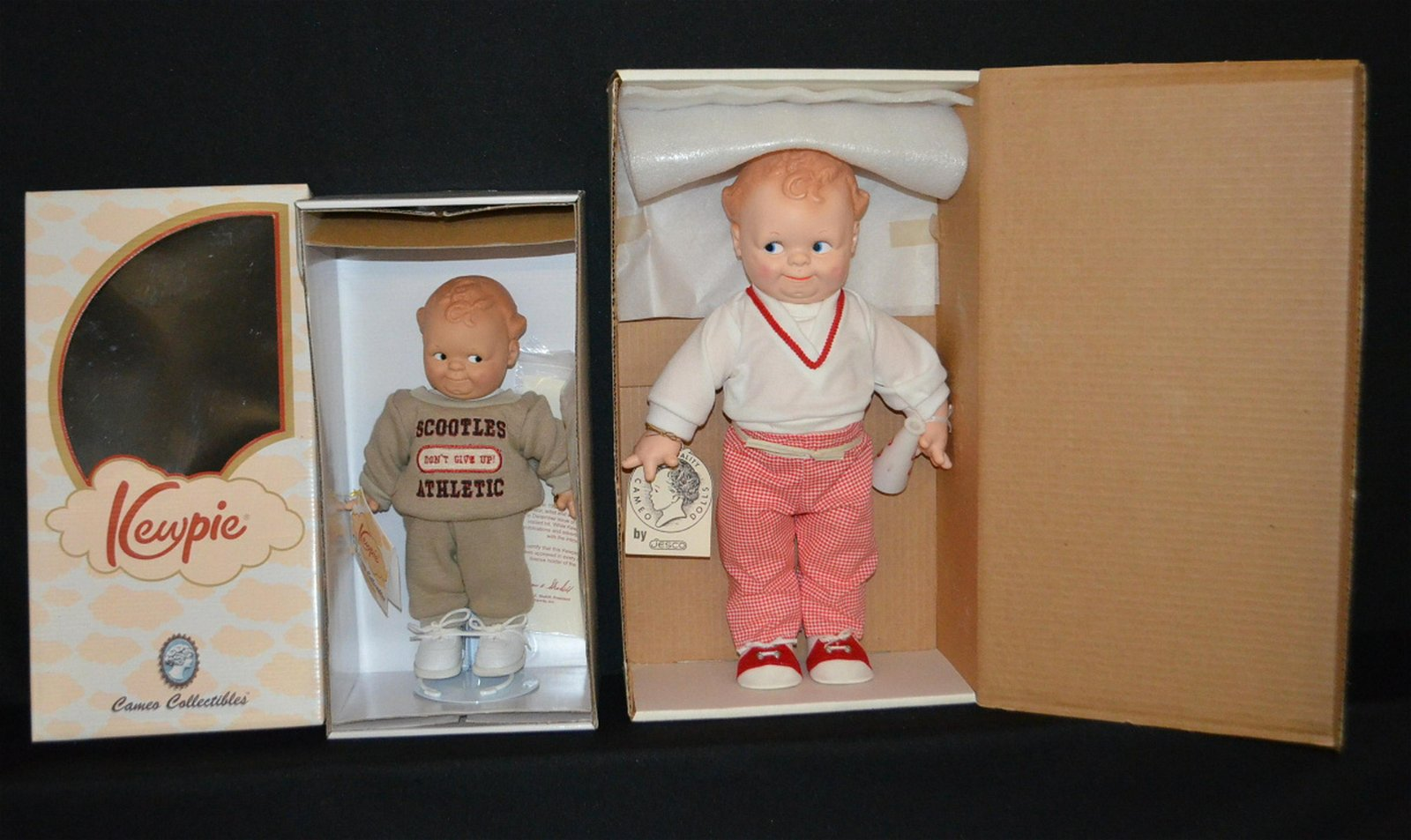 2 Scootles Dolls in Original Boxes