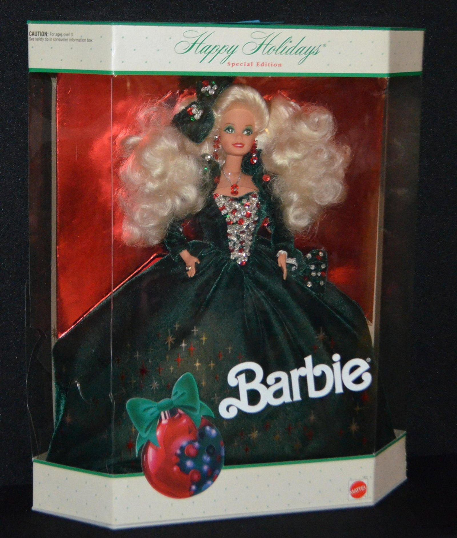 1991 Holiday Barbie Doll, NRFB