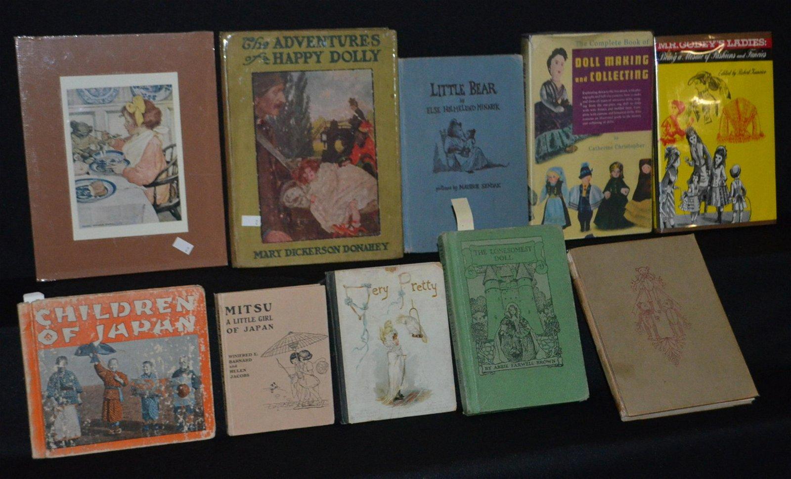 10 Vintage Children's Story Books