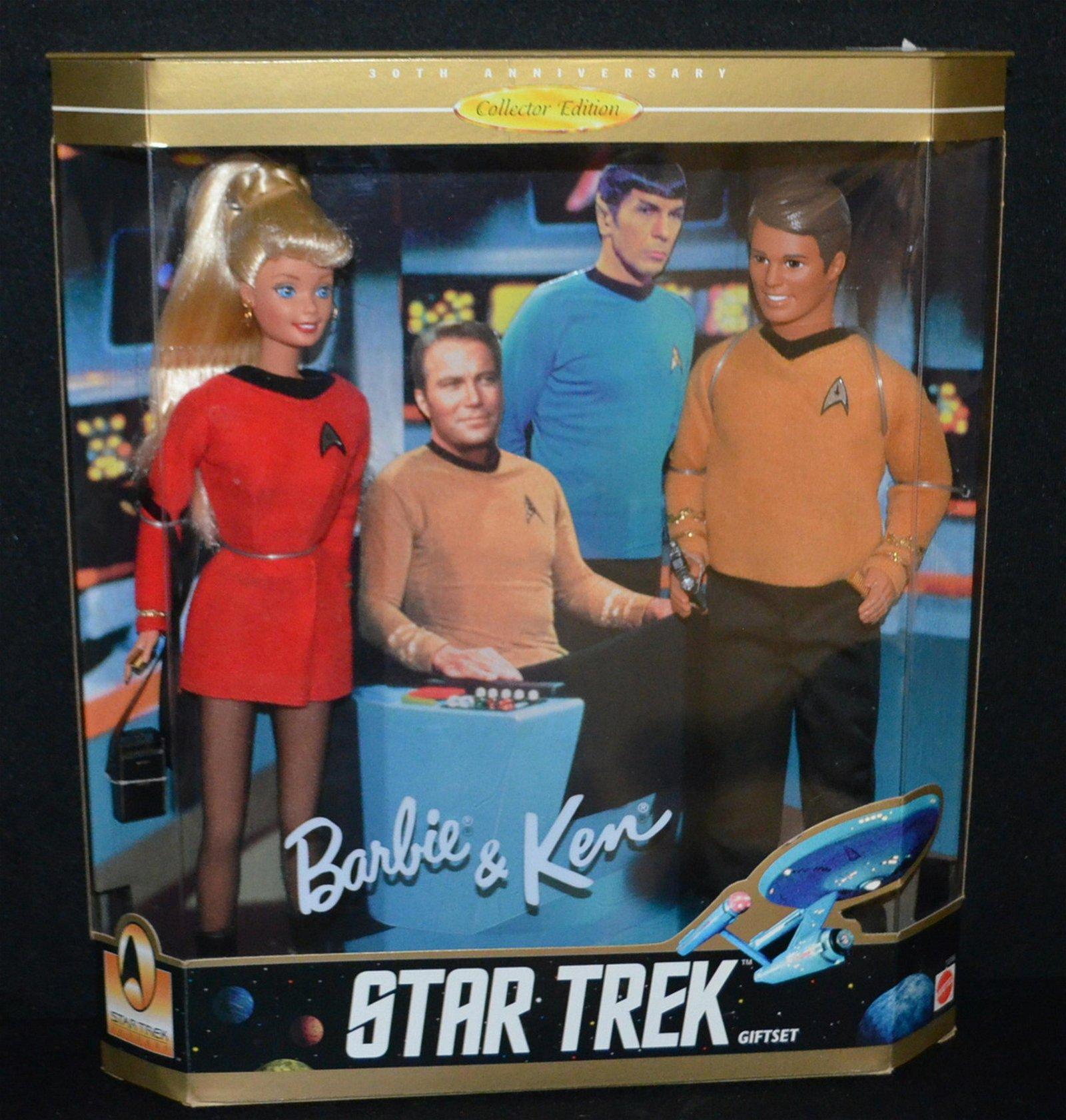 Barbie & Ken 1996 Star Trek Gift Set, NRFB