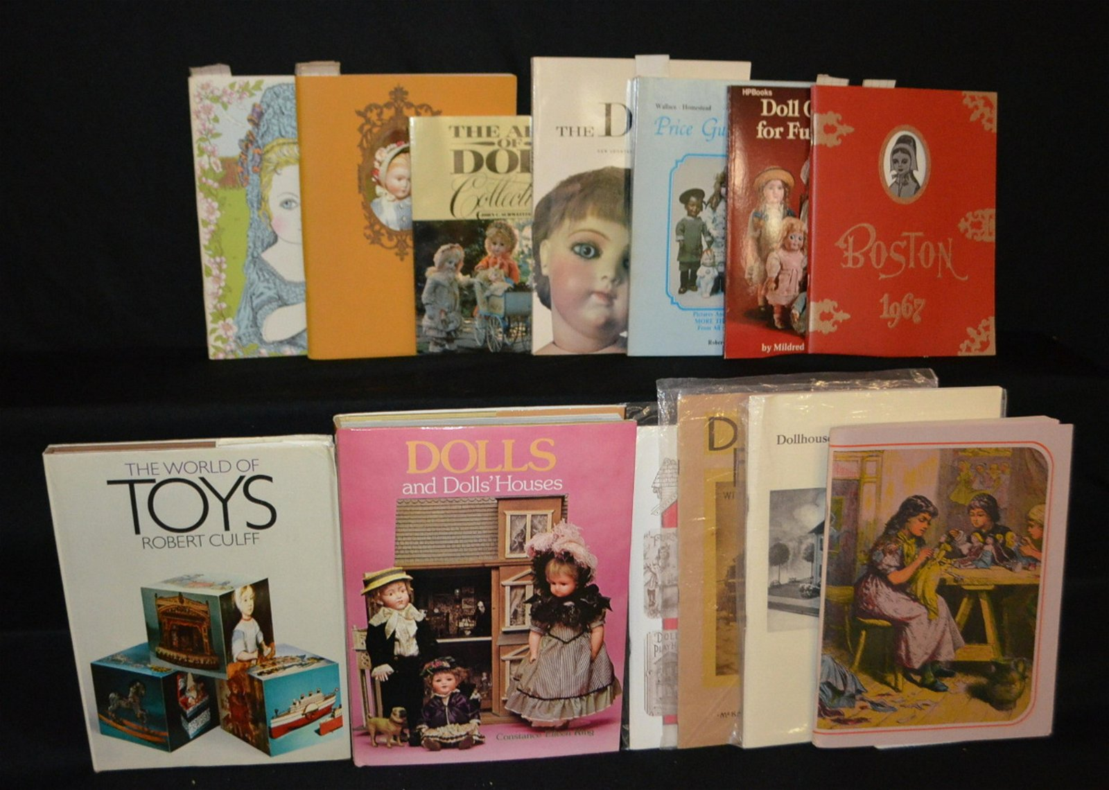 13 Doll Reference Books