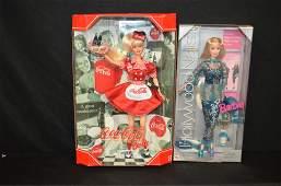 2 Barbie Dolls NRFB