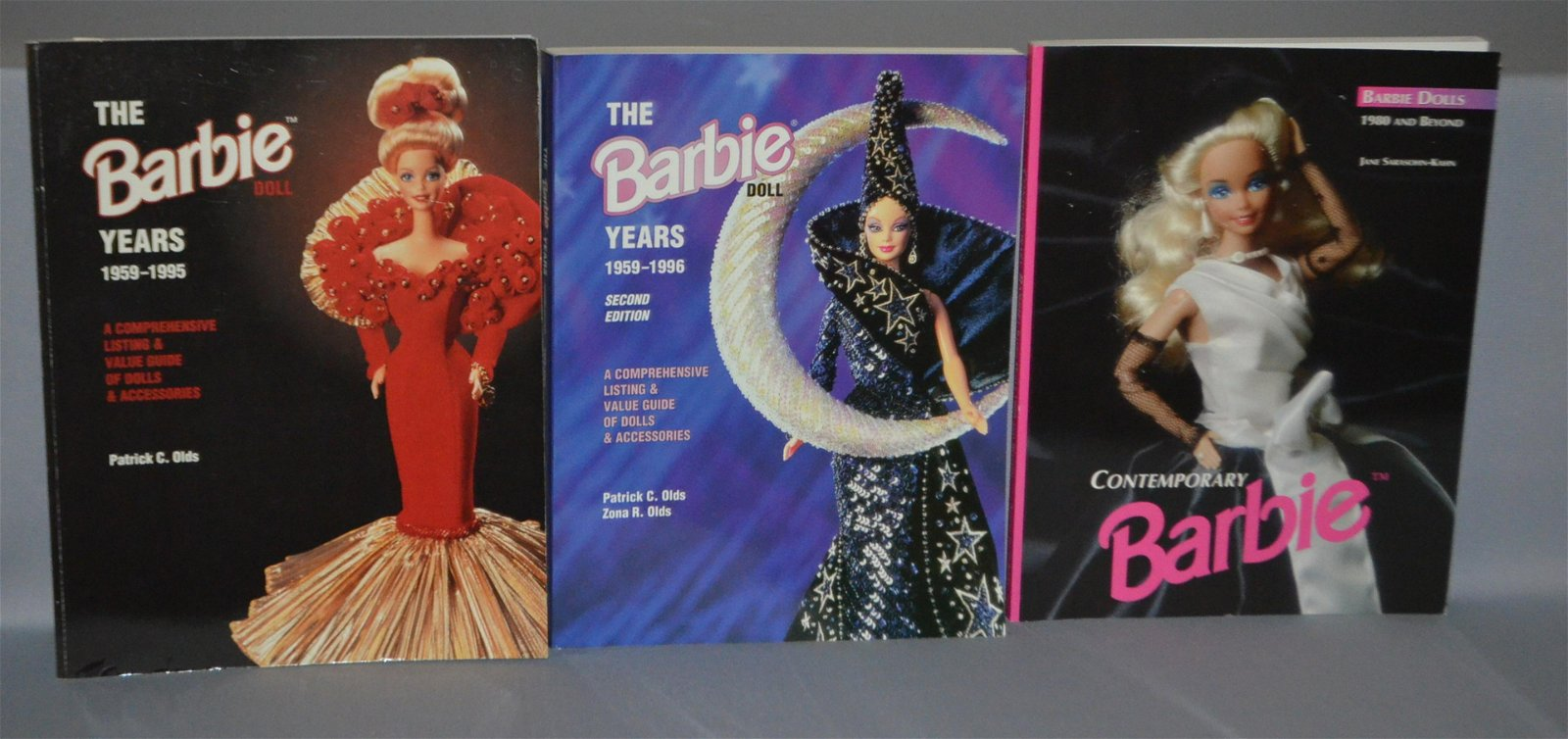 3 Barbie Doll Reference Books