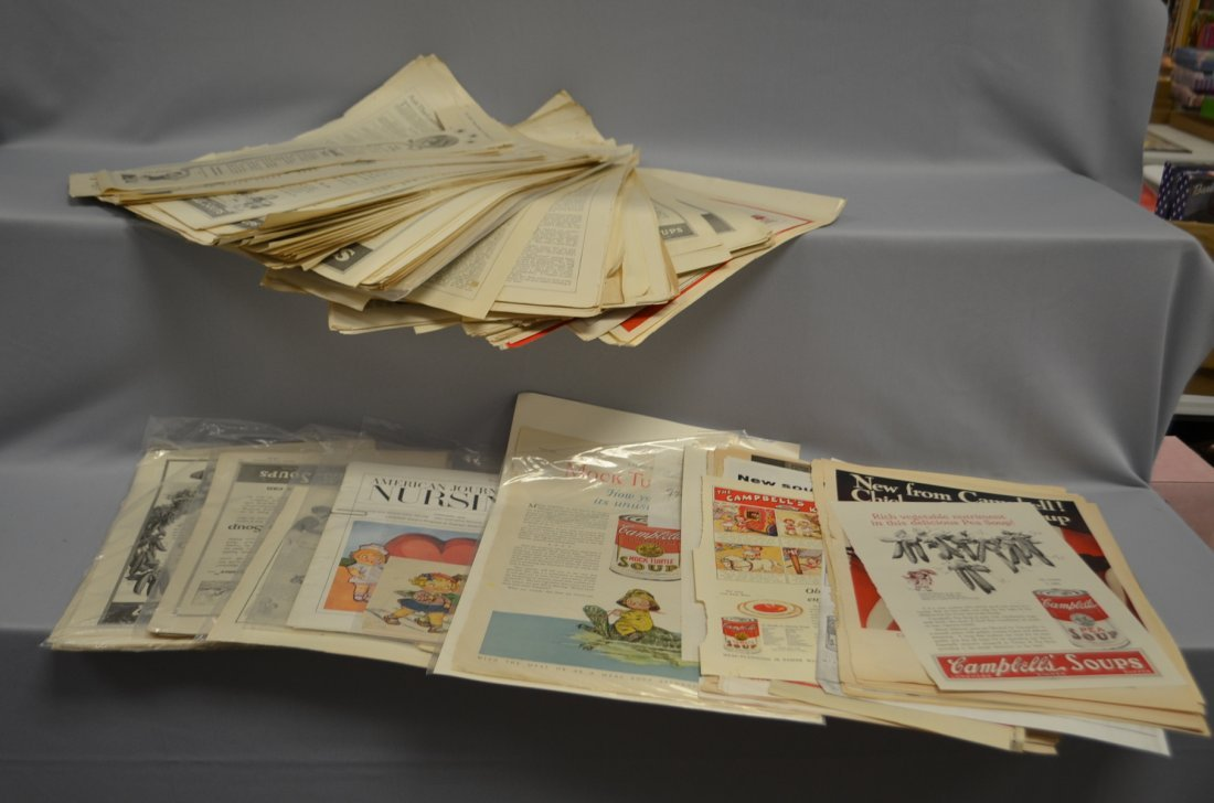 Vintage Campbell Soup Magazine Pages