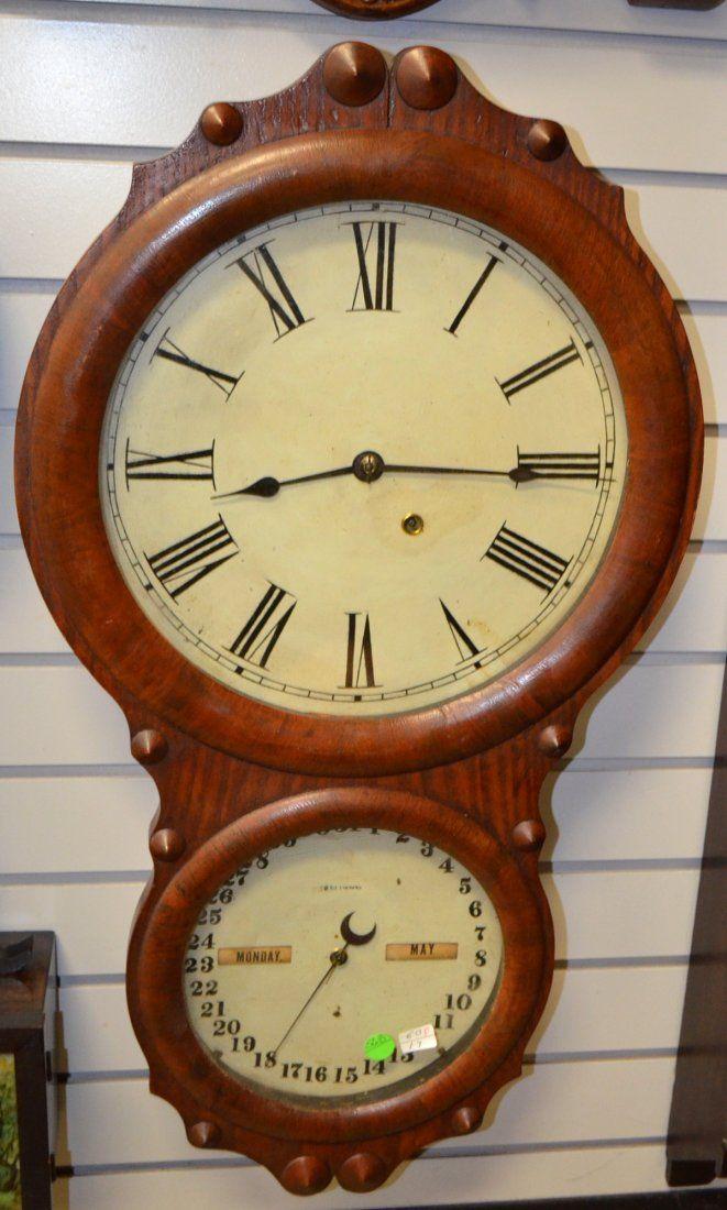 Antique Seth Thomas Office Calendar No 4. Clock
