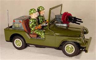 Batt-Op U.S. Army Jeep #6601 1st Division NR