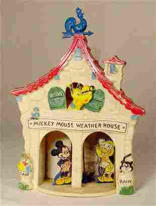 Mickey Mouse Weather House NR