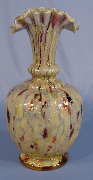 507: Victorian Cased Glass Vase