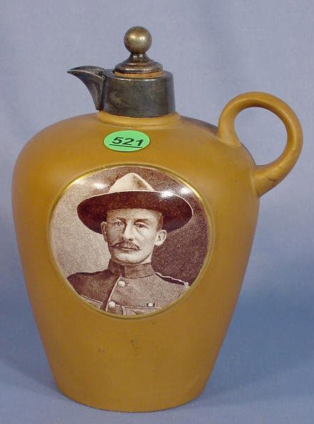 521: Taylor Tunnicliffe Pottery Rum Jug
