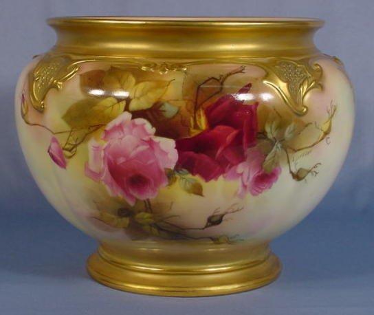 545: Royal Worcester Jardiniere
