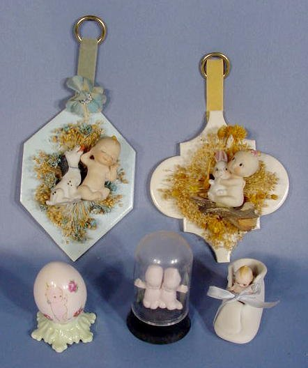 5: Group of 5 Unmarked Kewpie Collectibles