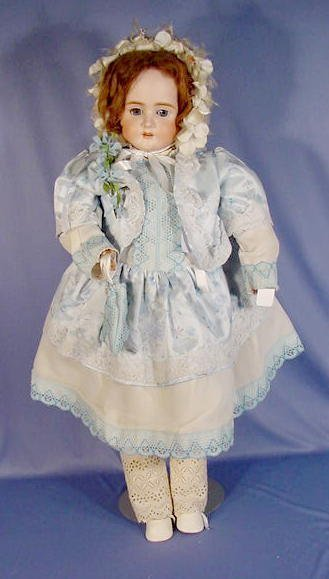 77A: Bisque Head Heinrich Handwerk Doll