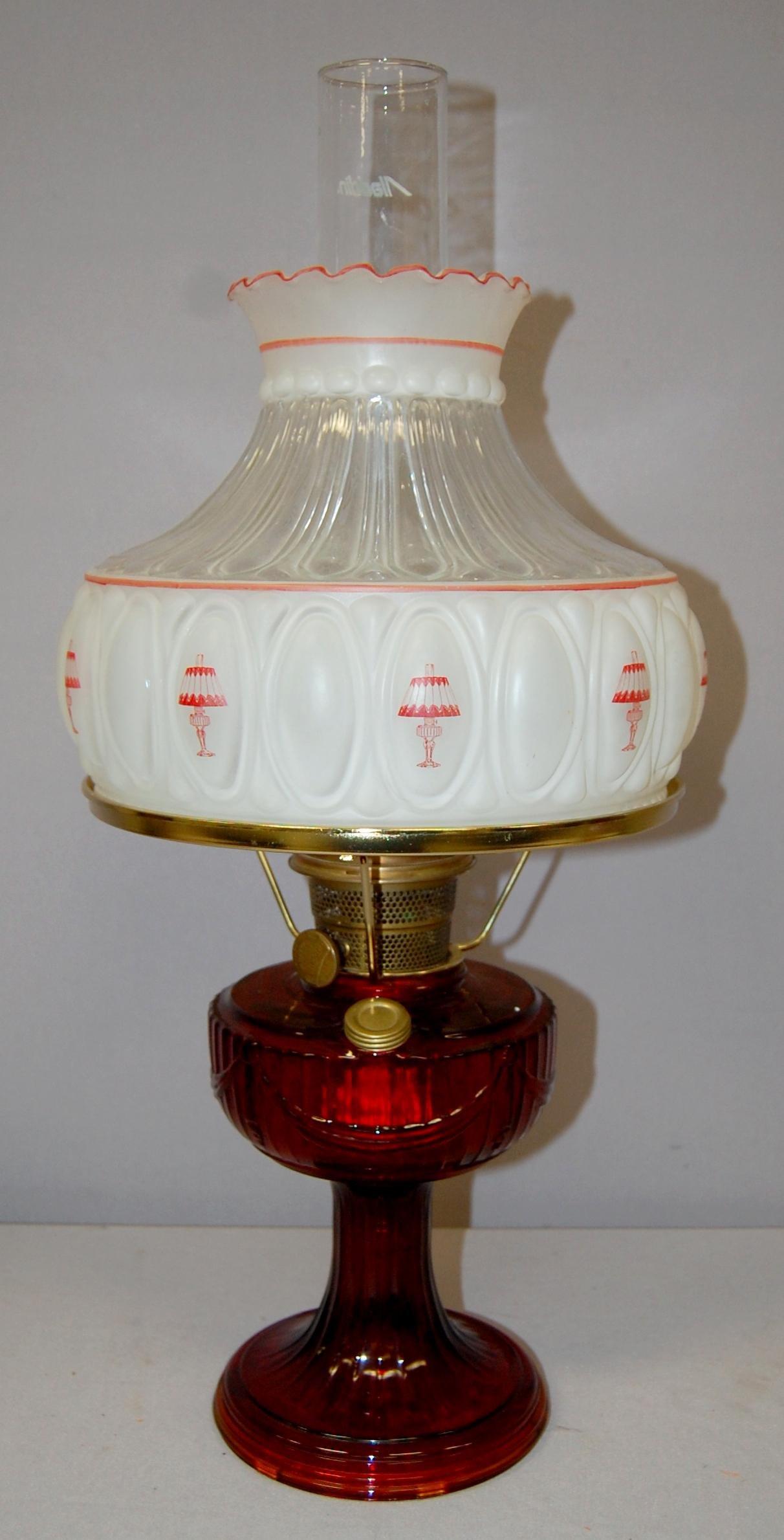 Unused Vaseline No. 23 Aladdin Lamp and