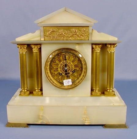 18: French Marble Shelf Clock