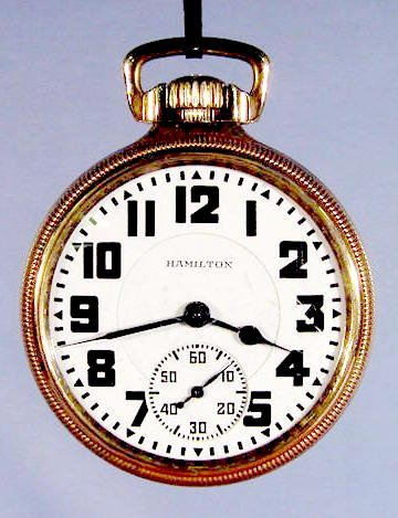 2001: Hamilton Watch Co. Model 950 Pocket Watch