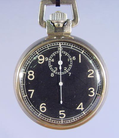 2002: Elgin 10 Second Timer Pocket Watch w/Black Dial