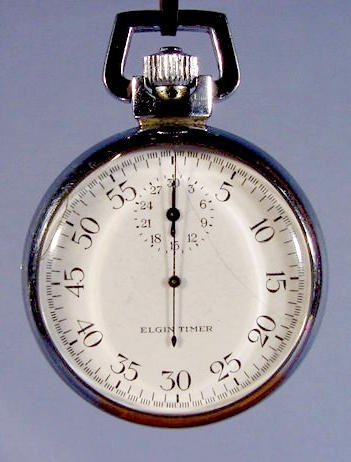 2003: Elgin U.S. Navy Timer Pocket Watch