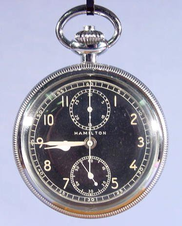 2004: Hamilton Model 23 Chronograph Pocket Watch