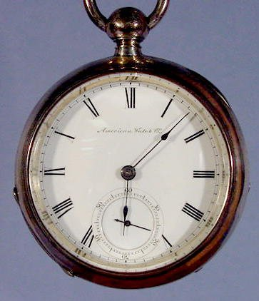 2005: American Watch Co. KW Wm. Ellery Pocket Watch