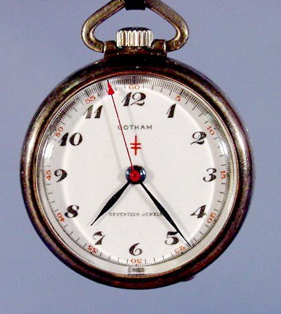 2006: Gotham Watch Co. Pocket Watch