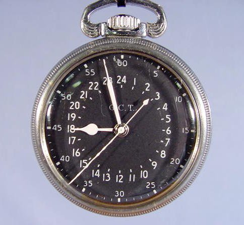 2008: Hamilton Model 4992B Military Pocket Watch