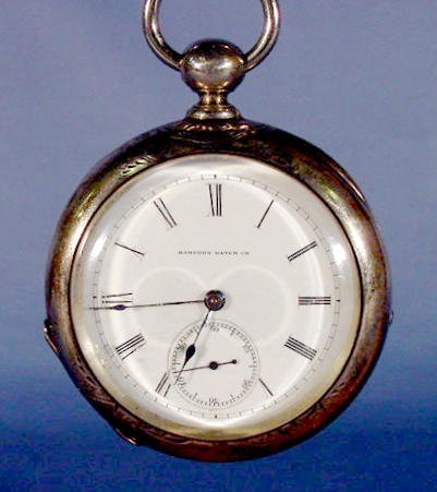 2010: Hampden Watch Co. Model 43 Pocket Watch