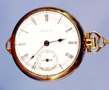 2012: Elgin National Watch Co Ladies Pendant Watch