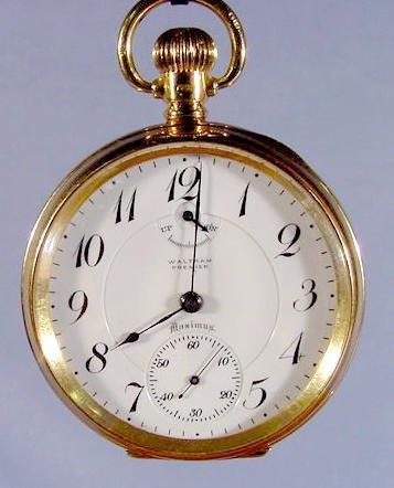2050: Waltham Premier Maximus Pocket Watch