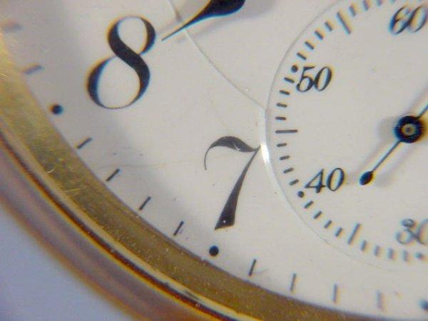 2050: Waltham Premier Maximus Pocket Watch - 4
