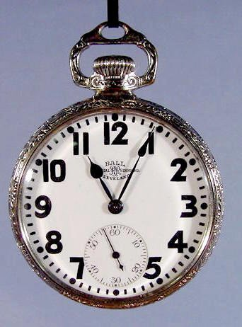 2069: Ball Watch Co. Pocket Watch