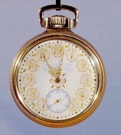 Hamilton Fancy Dial Presentation Pocket Watch