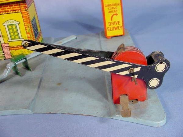 "525: Marx Toy Tin Litho ""Glendale Depot"" - 5"