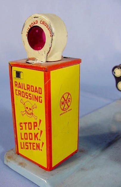 "525: Marx Toy Tin Litho ""Glendale Depot"" - 6"