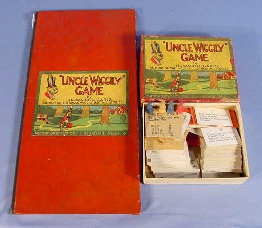 "526: Old Milton Bradley Co. ""Uncle Wiggily"" Game"