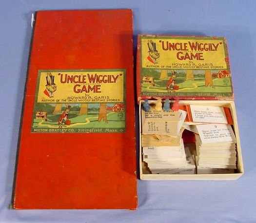 "526: Old Milton Bradley Co. ""Uncle Wiggily"" Game"