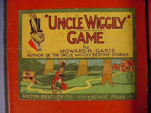"526: Old Milton Bradley Co. ""Uncle Wiggily"" Game - 2"